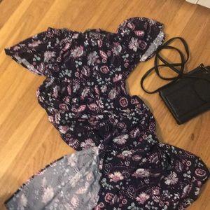 CottonOn floral maxi dress L. NWT